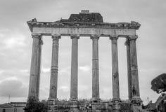 Forum Romanum columns Royalty Free Stock Photos