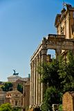 Forum Romanum, Italie. Image stock