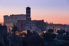 Forum Romanum, Italie Photo stock