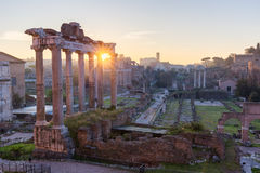 Forum Romanum, Italie Photos stock