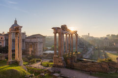 Forum Romanum, Italie images stock