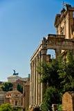 Forum Romanum, Italien. Stockbild