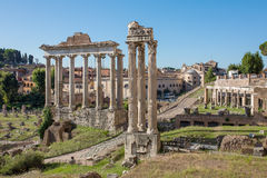 Forum Romanum in Italy Royalty Free Stock Image