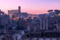 Forum Romanum, Italy Stock Photo