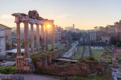 Forum Romanum, Italy Stock Photos