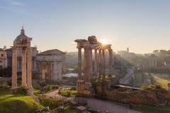 Forum Romanum, Italy Stock Images
