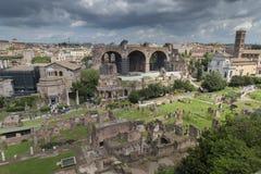 Forum Romanum Royalty Free Stock Photos
