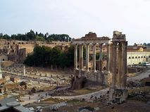 Forum Romanum - Rom Stockbild