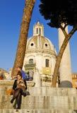 FORUM ROMANUM, ROM, ITALIEN 4. NOVEMBER Lizenzfreies Stockfoto