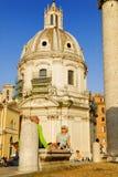 FORUM ROMANUM, ROM, ITALIEN 4. NOVEMBER Lizenzfreie Stockbilder