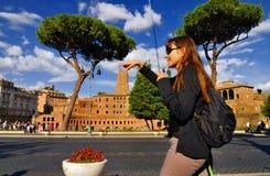 FORUM ROMANUM, ROM, ITALIEN 24. SEPTEMBER Lizenzfreies Stockbild