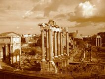 Forum Romanum, Rome Royalty Free Stock Photo