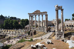 Forum Romanum in Rome, Italy Royalty Free Stock Images