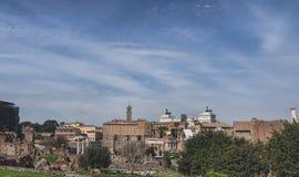 The Forum Romanum in Rome, Italy Stock Photos