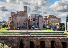 Forum Romanum, Rome, Italy Royalty Free Stock Photography