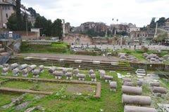 Forum Romanum in Rome, Italy Stock Photos