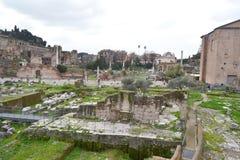 Forum Romanum in Rome, Italy Stock Image