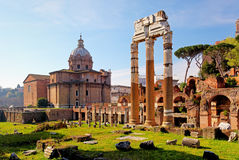 Forum Romanum - Rome, Italy Stock Photography
