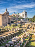 Forum Romanum, Rome, Italy Royalty Free Stock Images