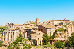 Forum Romanum in Rome Italy Stock Photography