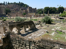 Forum Romanum, Rome Royalty Free Stock Photography