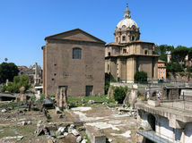 Forum Romanum, Rome Stock Photo