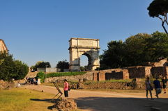Forum Romanum in Rome Royalty Free Stock Images