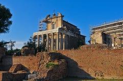 Forum Romanum in Rome Stock Image