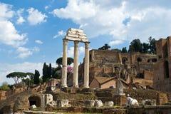 forum romanum ruiny Fotografia Royalty Free