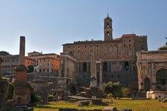 Forum Romanum view Royalty Free Stock Images