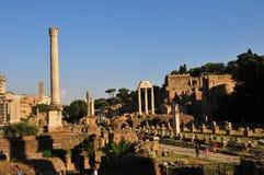 Forum Romanum view Stock Photography