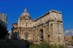 Forum Romanum view Stock Image