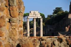 Forum Romanum view Royalty Free Stock Photography