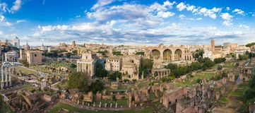 Forum in Rome stock foto's