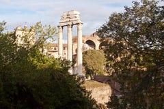 Forum in Rome, Italië Stock Foto
