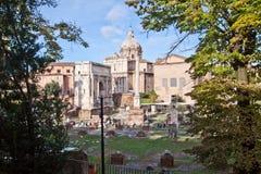 Forum in Rome, Italië Royalty-vrije Stock Foto's