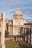 Forum in Rome, Italië Stock Foto's
