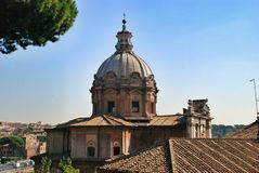 Forum in Rome, Italy Stock Photography