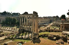 Forum in Rome, Italy Stock Images
