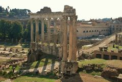 Forum in Rome, Italy Royalty Free Stock Photo
