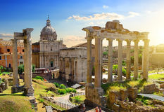 Forum in Rome Royalty Free Stock Image