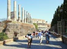 forum rzymscy Zdjęcie Stock