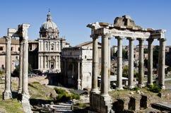 forum rzymski zdjęcie stock