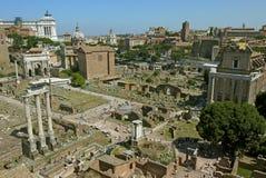 forum rzymski Rome Włochy Zdjęcia Royalty Free