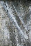forum scenariusze stone romana Włoch Fotografia Stock