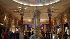 Forum shoppar i Las Vegas Arkivbilder