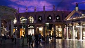 Forum shoppar i Las Vegas Royaltyfria Bilder