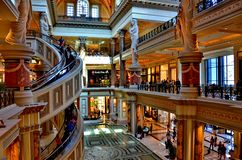 The Forum Shops Stock Photo