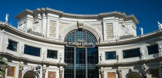 The Forum Shops at Caesars Palace Las Vegas Royalty Free Stock Photo