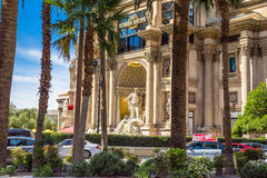 The Forum Shops at Caesars Palace in Las Vegas Royalty Free Stock Photo